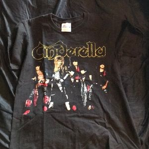 Rock and roll adult small Cinderella shirt